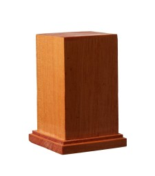 DB-004 Wooden Base Square L 60 x 60 x H90 mm / top 49 x 49 mm