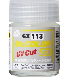GX-113 Mr. Color GX Super Clear III UV Cut Flat (18ml)