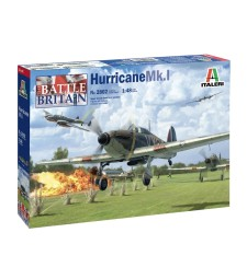 1:48 HURRICANE Mk.I - BATTLE OF BRITAIN 80th ANNIVERSARY AND SUPER DECAL