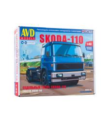 Skoda-LIAZ 110 tractor truck - Die-cast Model Kit