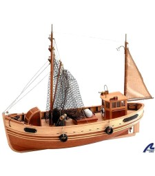 1:35 Bremen Krabben Kutter - Wooden Model Ship Kit