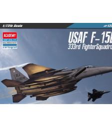"""1:72 USAF F-15E """"333rd FIGHTER SQ"""" MODEL"""