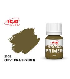 Primer Olive Drab, acrylic, flatt (17 ml)