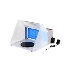 Spray booth HS-E420DC