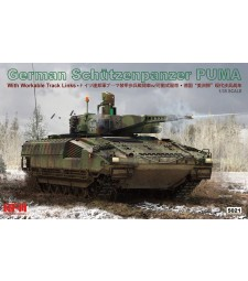 1:35 SCHÜTZENPANZER PUMA W/ WORKABLE TRACK LINKS