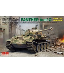 1:35 PANTHER AUSF.G EARLY/ LATE PRODUCTION W/ WORKABLE TRACK LINKS