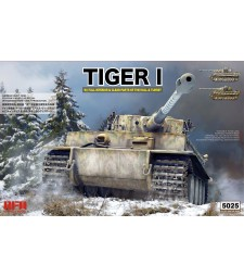 1:35  TIGER EARLY PRODUCTION W/ FULL INTERIOR & CLEAR PARTS & WORKABLE TRACK LINKS
