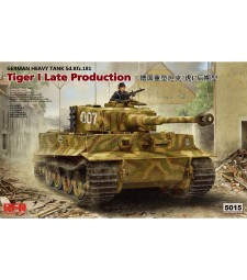1:35 TIGER I LATE PRODUCTION W/ WORKABLE TRACK LINKS