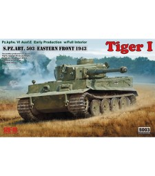 1:35 TIGER I EARLY PRODUCTION W/ FULL INTERIOR