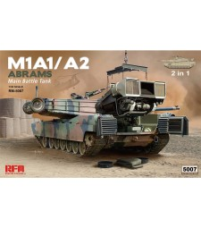 1:35 M1A1/ A2 ABRAMS W/ FULL INTERIOR & WORKABLE TRACK LINKS