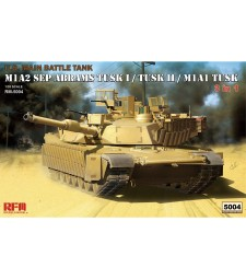 1:35 M1A1/ M1A2 TUSK W/ WORKABLE TRACK LINKS