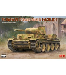1:35  PZ.KPFW.VI AUSF.B(VK36.01) W/ WORKABLE TRACK LINKS