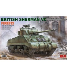 1:35 British Sherman vc firefly w/workable track links