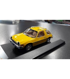 AMC PACER X 1975 Yellow - DAMAGED