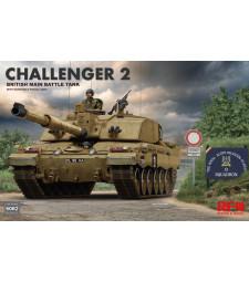 1:35 British main battle tank Challenger 2 w/workable track