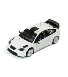 FORD FOCUS RS WRC08 2009 Rally Spec (2 set of wheels and tyres) - All white