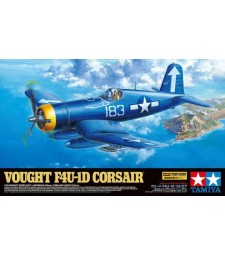 1:32 Vought F4U-1D Corsair - 1 figure and stand