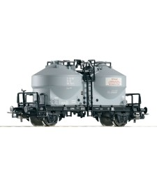 Cement silo wagon type Uce 9120 of the DR, epoch IV