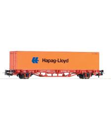 Flatcar w/Container Hapag Lloyd DB V