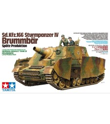 1:35 Sd.Kfz.166 Sturmpanzer IV Brummbar Late Production - 2 figures