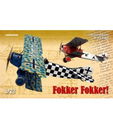 1:72 Fokker Fokker! (German WWI fighter Fokker D.VII) Limited Edition