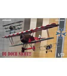 1:72 Du doch nicht! (Albatros D.V, Fokker Dr. I and Fokker D.VII) Limited Edition