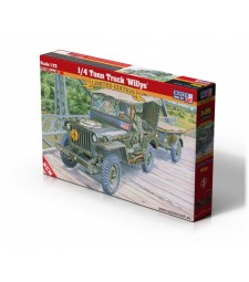 1:72 1/4 Tonn Truck Willys