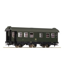 Conversion wagon 2nd class with packing compartment, the German Federal Railways, epoch III