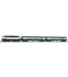 PIKO SmartControl light set passenger train BR 218 with 2 cars
