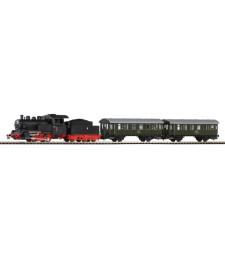 PKP Starter Set Steam Loco Passenger train
