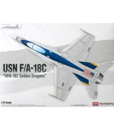 "1:72 USN F:A-18C ""VFA-192 GOLDEN DRAGONS"