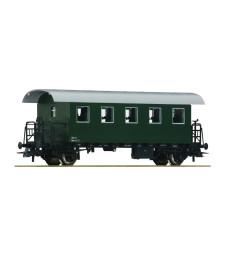 2nd class railcar of the Austrian Federal Railways, epoch III-IV