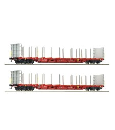 2 piece set stake wagons, RCA, epoch VI