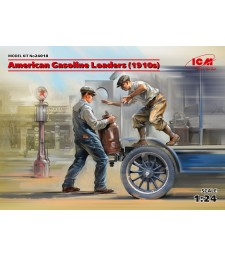 1:24 American Gasoline Loaders (1910s) (2 figures) (100% new molds)