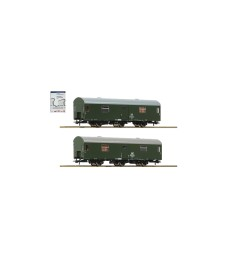 "2 piece set: Mail coaches ""Rekowagen"", DR, epoch IV"