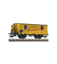 """Refrigerated wagon """"Homann-Frauengunst"""", DRG, epoch II"""