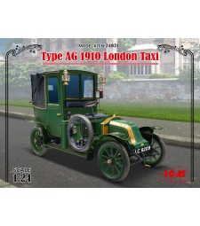 1:24 Type AG 1910 London Taxi
