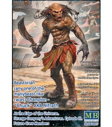 1:24 Beastorian (any one of the many beast like races) Champion – Chuck AKA Nifrath. At the Edge of the Universe. Strange Company's Adventures. Episode III. Future Crew Members.