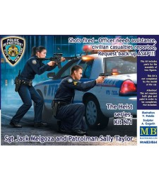 1:24 The Heist series, Kit №1. Shots fired – Officer needs assistance, civilian casualties reported, Request back-up ASAP!!! Sgt Jack Melgoza and Patrolman Sally Taylor