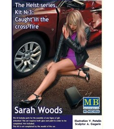 1:24 The Heist series, Kit №3: Caught in the cross-fire. Sarah Woods