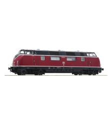 Diesel locomotive 220 036-8, DB, epoch IV