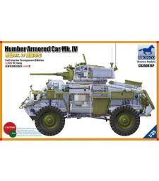 1:35 Humber Armored Car Mk. IV (Full Interior Transparent Edition)