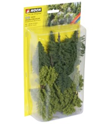Mixed Forest 10 pcs.. 10 - 14 cm high