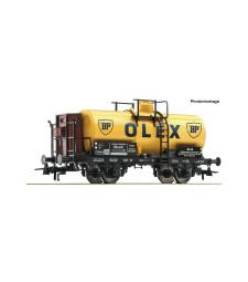 """Tank wagon """"BP"""" of the Deutsche Reichsbahn Gesellschaft, epoch II"""