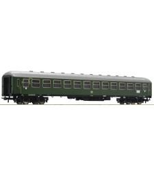 2nd class express train passenger coach, type B4üm, the Deutsche Bundesbahn, epoch III