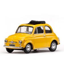 Fiat 500F – Yellow 1965