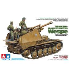 """1:35 German Self-Propelled Howitzer Wespe """"Italian Front"""" - 4 figures"""