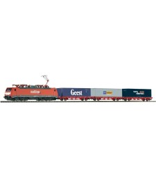 Starter Set Container Train BR 189 w 3 Cont. NS