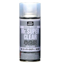 B-516 Mr. Super Clear Semi-Gloss Spray (170 ml)