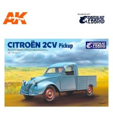 1:24 Citroen 2CV Pick Up - Plastic Kit